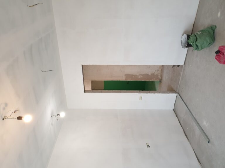 15 Малярные работы (шпатлевка стен)