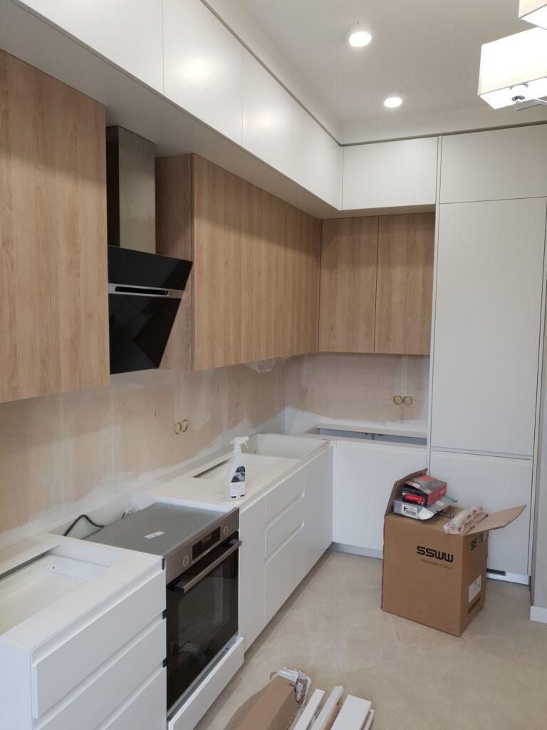 26 Установка кухонного гарнитура