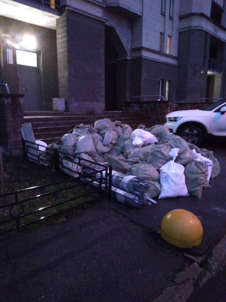 3 Вынос и вывоз строительного мусора